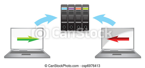 global computer network - csp6976413