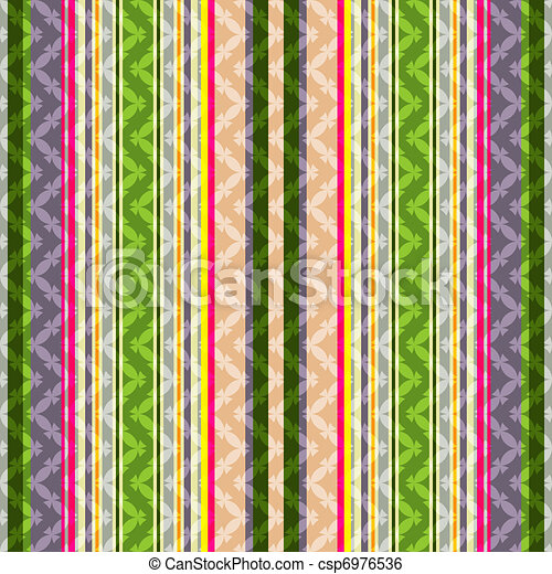 Repeating striped pattern - csp6976536