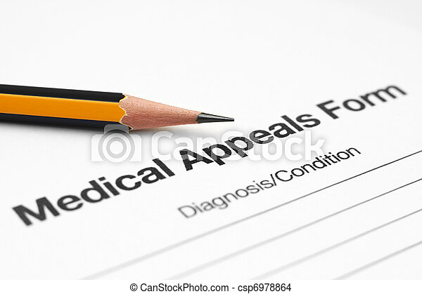 Medical appeals form - csp6978864