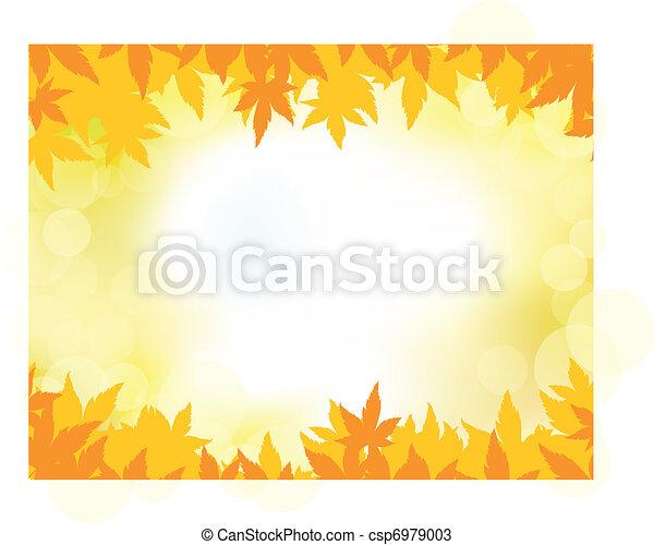 Autumn background - csp6979003