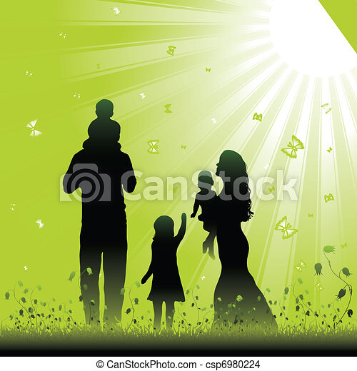 Friendly family - csp6980224