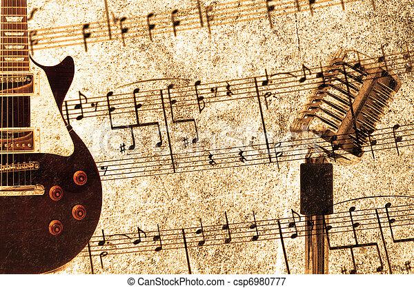 årgång, begrepp, musik - csp6980777