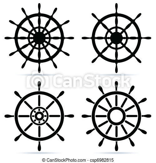 Set of steering wheels - csp6982815