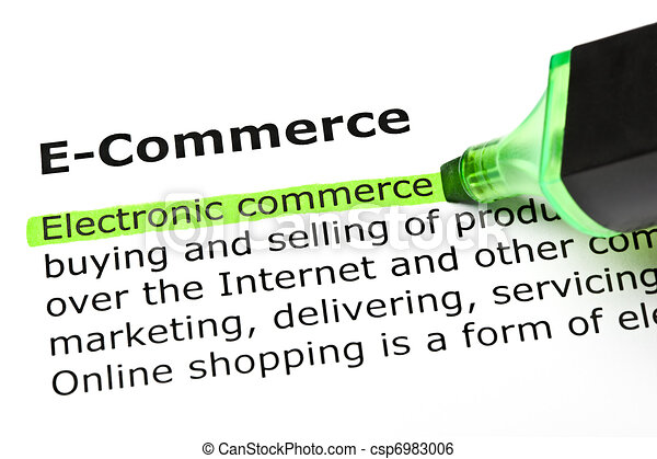 'Electronic commerce', under 'E-Commerce' - csp6983006