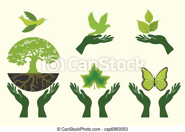 Nature Icons. Vector set - csp6983053