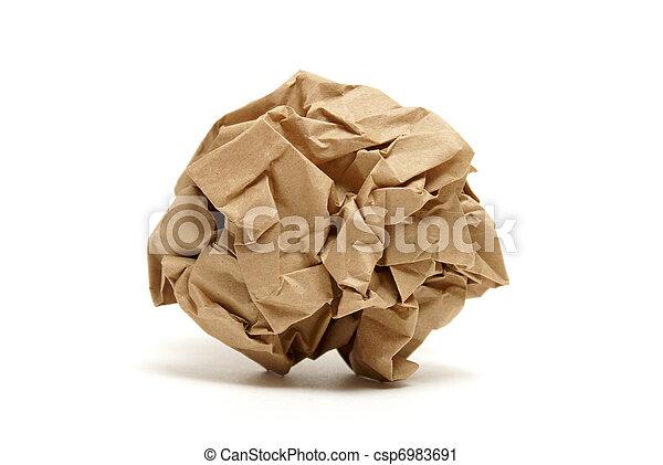 Crumpled Paper - csp6983691