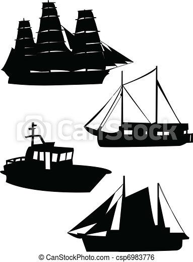 Sailing boat - csp6983776