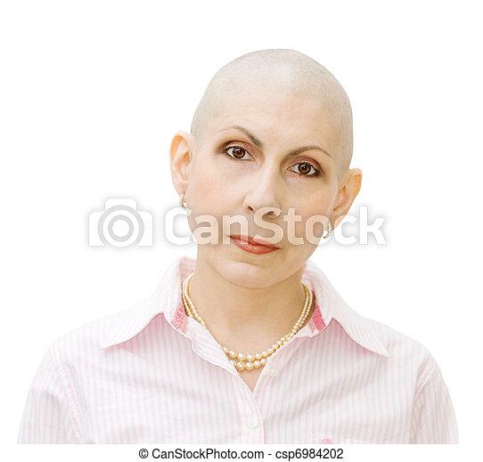 Portrait of cancer patient - csp6984202