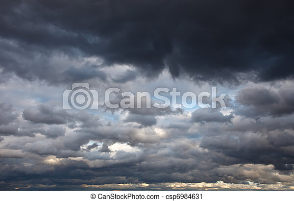 ciel, orageux - csp6984631