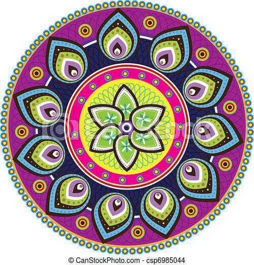Indian pattern - csp6985044