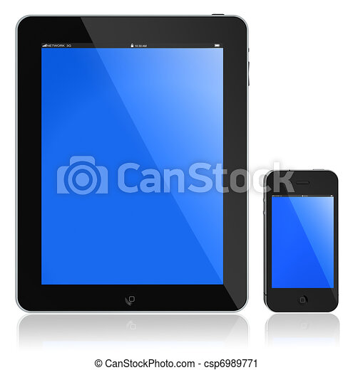 Tablet PC and modern phone - csp6989771
