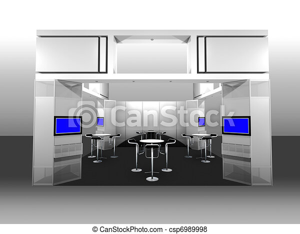 Exhibition Booth - csp6989998