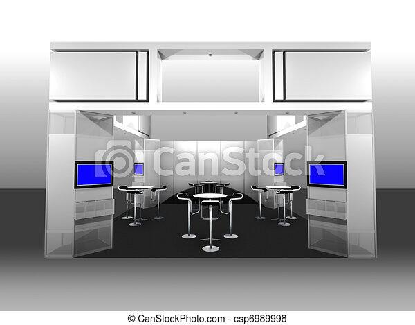 Exhibition Booth - csp6989998