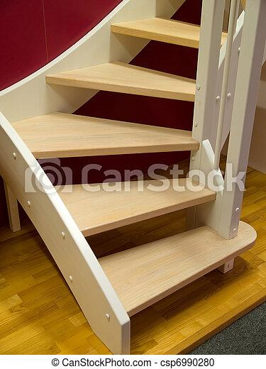 Stock de fotografía de de madera, elegante, escaleras   elegante ...