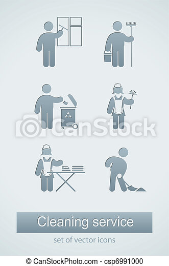cleaning service icon - csp6991000