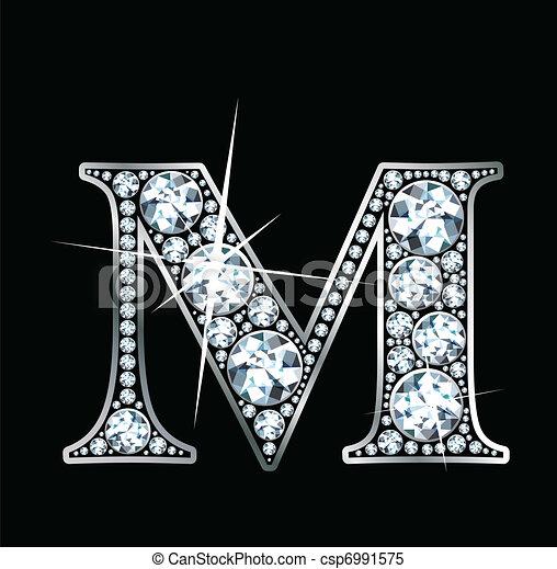 "Diamond ""M"" - csp6991575"