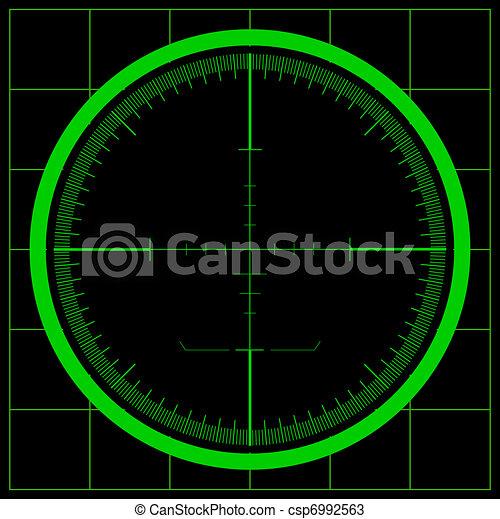 Radar screen - csp6992563