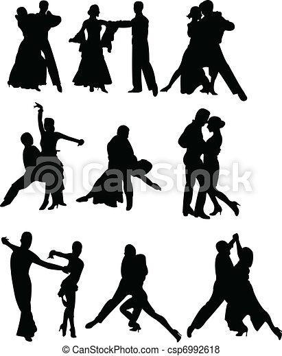 dance couple - csp6992618