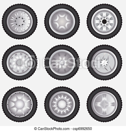 Vector alloy wheels - csp6992650