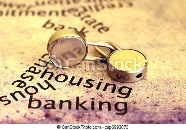 Housing and banking - csp6993073