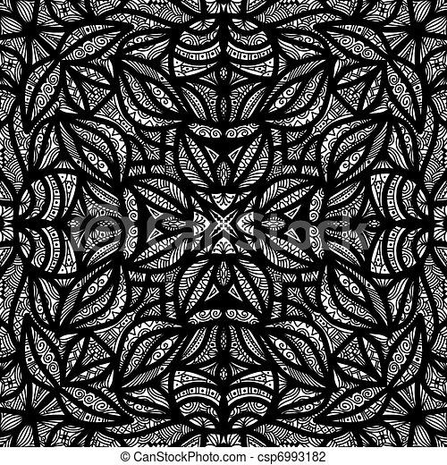Clip art de blanc carrelage noir texture noir et blanc d taill c - Texture carrelage noir ...