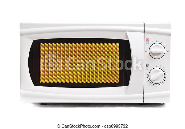 Microwave oven. - csp6993732