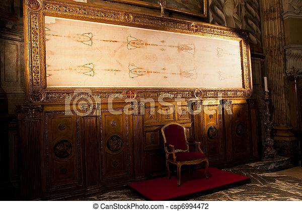 Turin, Italy - Sacred Shroud - csp6994472