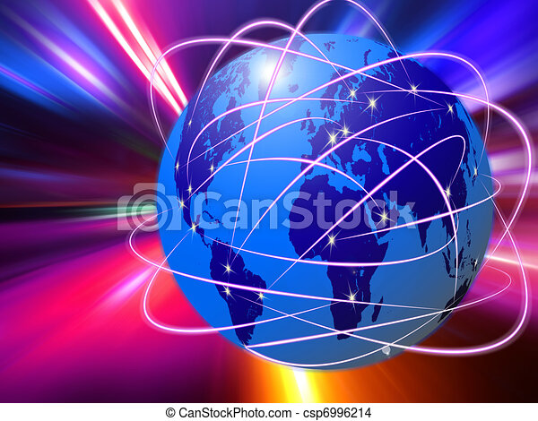 global Internet communications technology - csp6996214