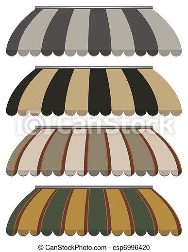 vector awnings - csp6996420