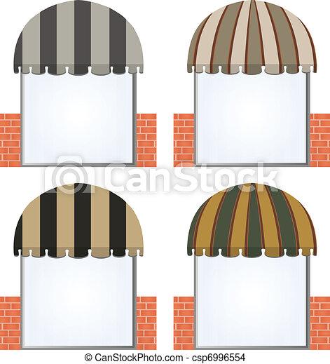 vector awnings - csp6996554
