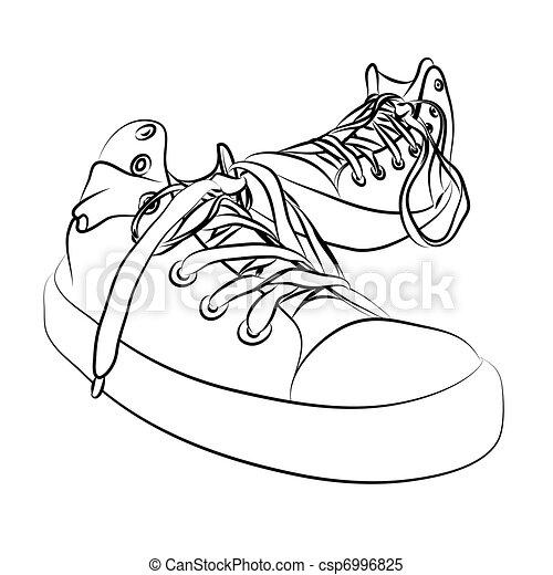 vector sneakers - csp6996825