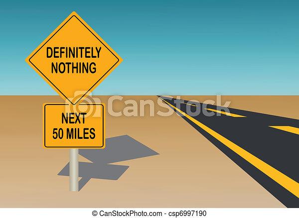 Road Sign - csp6997190
