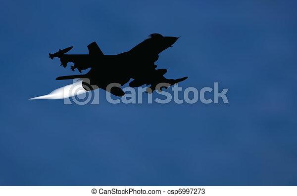 bomber airplane - csp6997273