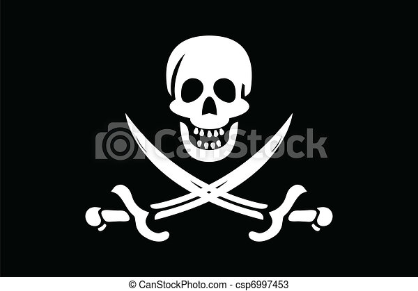 Pirate Flag - csp6997453
