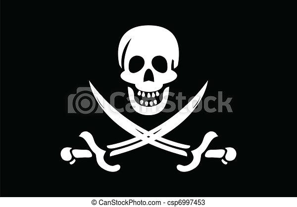 Pirate Flag - csp6997453