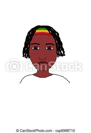 Illustration de rasta homme dessin csp6998710 recherchez des clipart des illustrations des - Dessin de rasta ...