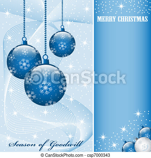 Christmas balls decorations - csp7000343
