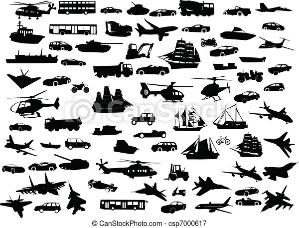 collection of transportation - csp7000617