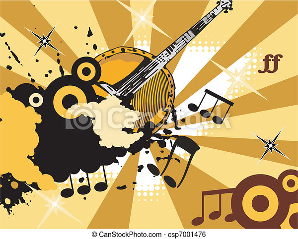 Musical Background - csp7001476