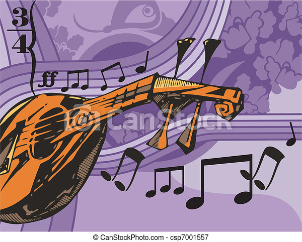 Musical Background - csp7001557