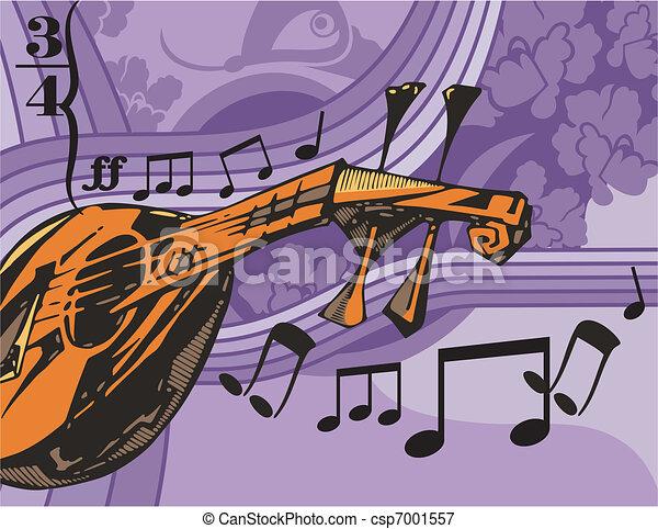 Musical Background - csp7001557