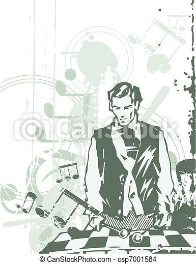 Musical Background - csp7001584