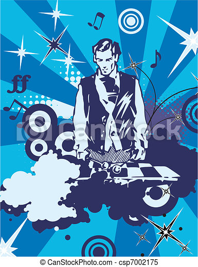 Musical Background - csp7002175