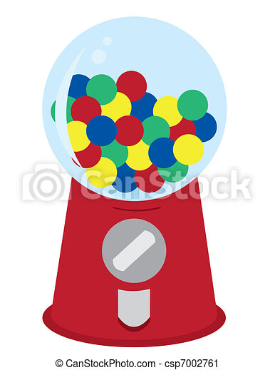 Gumball machine Illustrations and Clip Art. 154 Gumball machine ...
