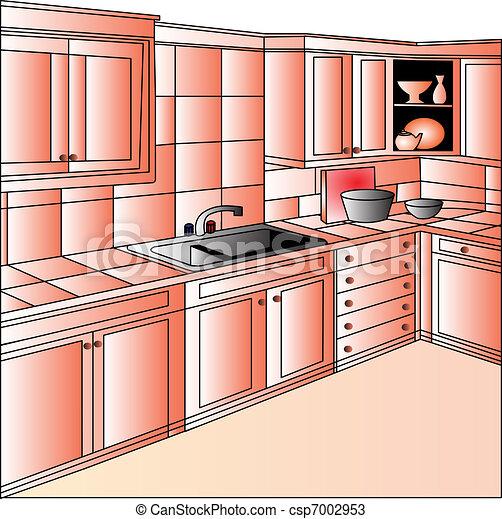 Vetores de mob lia cozinha ilustra o mob lia cozinha for Mobilia international