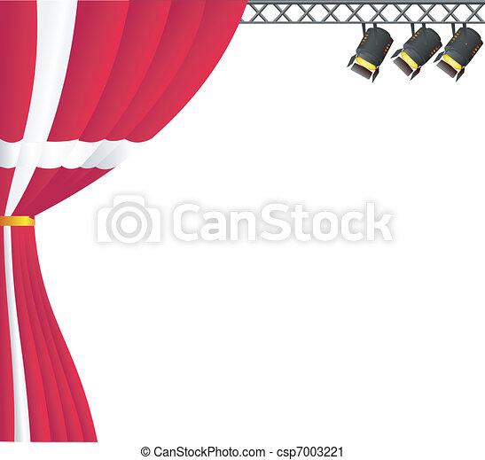 Theater Denmark. vector - csp7003221