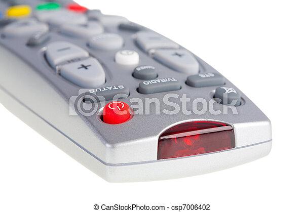 Television remote control  - csp7006402