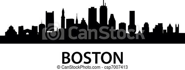 Skyline Boston - csp7007413