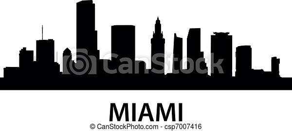 Skyline_Miami - csp7007416