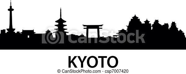 Skyline Kyoto - csp7007420